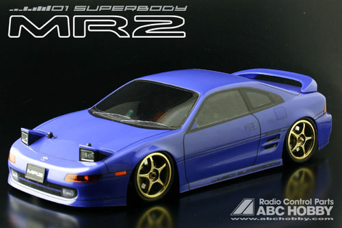 ABC 66087 - Toyota MR2 - W2 - 1:10 Touring - Body Set