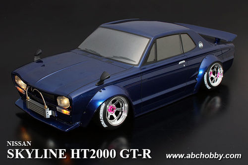 ABC 66163 - Nissan Skyline GT-R - H/T 2000 - C10 Coupe - 1:10 Touring - Body Set