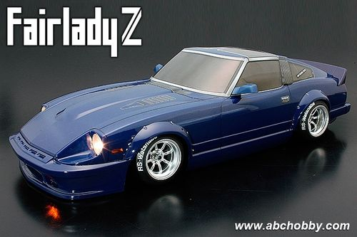 ABC 66169 - Nissan Fairlady 280ZX S130Z - Street Racer Custom - 1:10 Touring - Body Set