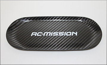 RC-Mission MI-CTRY-T1 - Carbon Parts Tray - 223x93x9mm