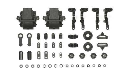 Tamiya 54743 - TA-07 - Carbon Reinforced A-Parts - Bulkheads (2 sets)