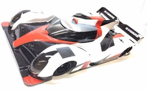 Square SBD-002 - STS-050 - LMP Prototype Body for 1/10 PanCar / WGT / Pro10