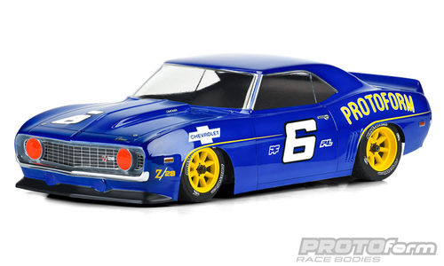 Protoform 1562-40 - 1969 Chevrolet Camaro Z28 Clear Body 200mm