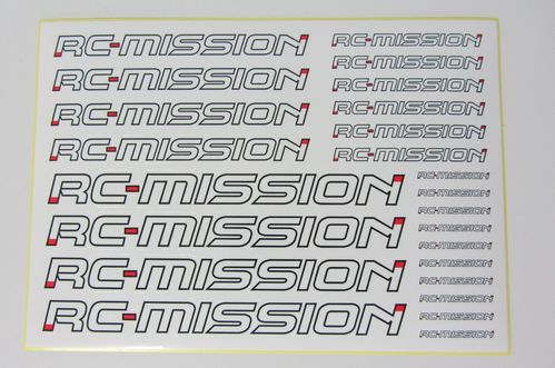 RC-Mission MI-LDS - Decal Sheet - pre-cut (ca. 210x150mm)