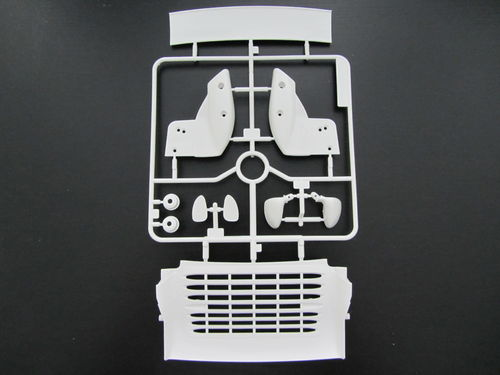 Tamiya 9004371 - Porsche 911 GT2 993 - H-Parts - Rear Wing and Mirrors - WHITE