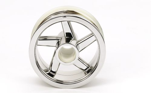 Tamiya 54823 - T3-01 - Front Rim - Chrome Plated (1 pc)