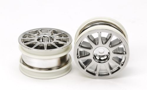 Tamiya 54824 - T3-01 - Rear Rim - Chrome Plated (2 pcs)