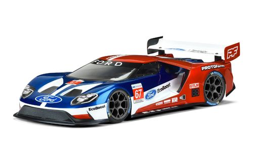 Protoform 1550-25 - Ford GT - 190mm GT Karosserie für normale TW Chassis