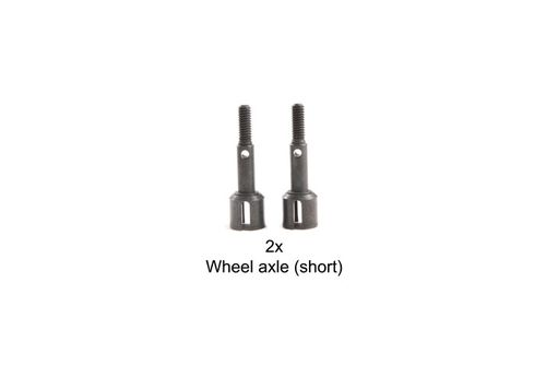 Tamiya 9808192 - TT-02S - Steel Wheel Axle (2 pcs)