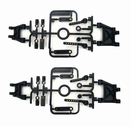 Tamiya 0555091 - TA-02 - D-Parts - Rear Suspension Arms