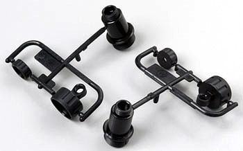 Tamiya 50599 - TA-02 - W-Parts - Shock Cases (for 2 shocks)