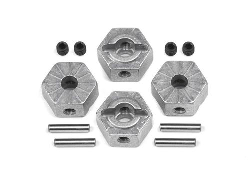 HPI 116875 - Sport 3 - Wide Alu Hex Wheel Hub Set (4 pcs)