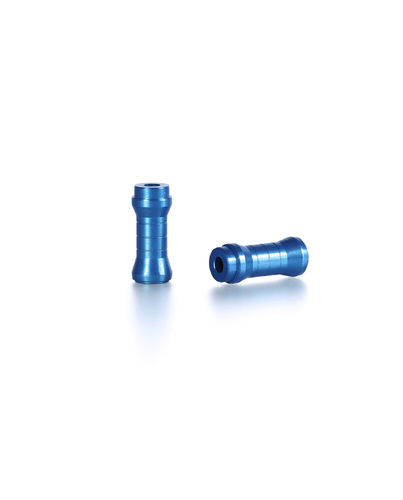 PSM PS02092 - Tamiya TA07 - Spacer for Steering Rack Aluminium Electric Blue (2 pieces)
