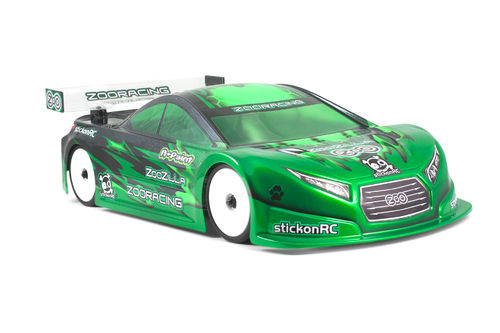ZooRacing ZR-0001-05 - ZooZilla - 1:10 Tourenwagen Karosserie - 0.5mm LIGHTWEIGHT
