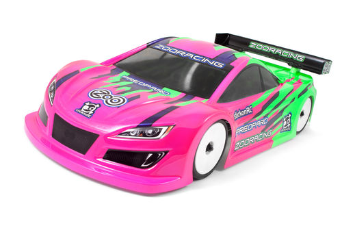 ZooRacing ZR-0002-07 - PreoPard - 1:10 Tourenwagen Karosserie - 0.7mm REGULAR
