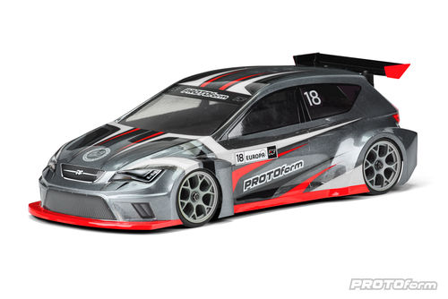 Protoform 1565-25 - EUROPA - 190mm Touring Car Body - FWD - LIGHTWEIGHT