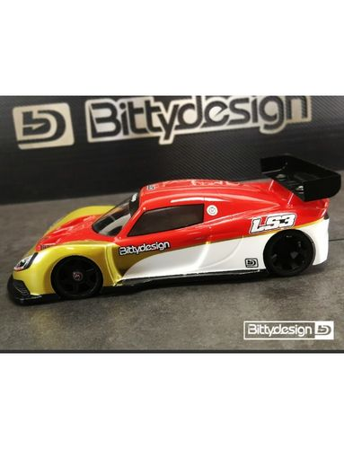 BittyDesign LS3 - 1/12 GT Body Set