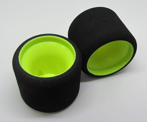 MobGums - 1:12 Foam Tires - rear - GREEN (2 pcs)