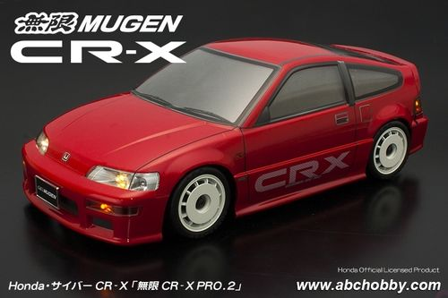 ABC 66322 - Honda CRX - Mugen CR-X Pro.2 - 1:10 Mini - Body Set