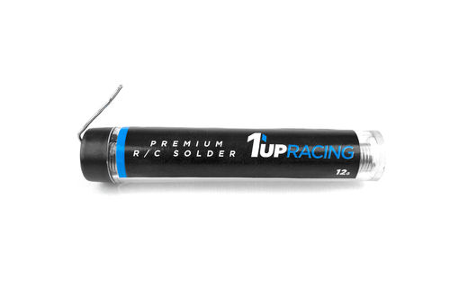 1UP Racing - 190403 - Premium Solder - Lötzinn (12g)