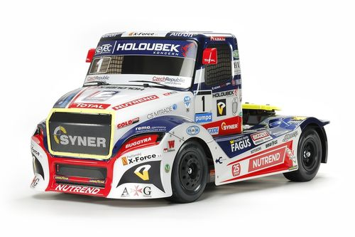 Tamiya 51613 - Buggyra Fat Fox Racetruck - Team Holoubek Racing - Body Set