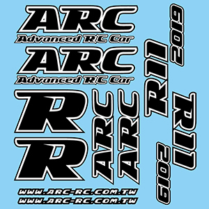 ARC R119021 - R11 2019 - Decal