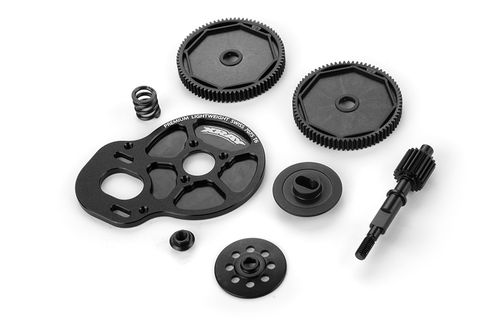 XRAY 324000 - XB2D 2019 - Short 2-Pad Slipper Clutch Set - Shocks in Front