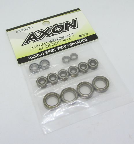 AXON BS-PG-I002 - X10 - Ball Bearing Set - for INFINITY IF14