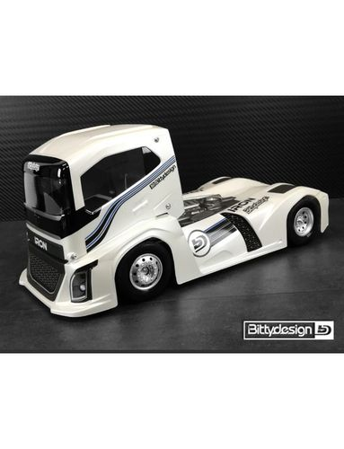 BittyDesign - IRON - 1:10 Race Truck - Body Set - Truck Class