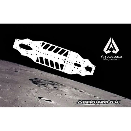 Arrowmax 900005 - ARROWSPACE - Magnesium Lower Deck for Yokomo BD9 - MULTIFLEX