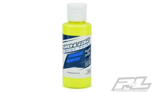 ProLine 6328-02 - RC Body Paint - Airbrush Farbe - FLUORESCENT GELB - 60ml