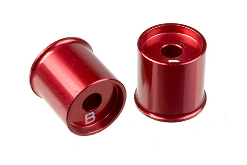 Corally 00110-017 - SSX-10 - Aluminium Lower Arm Cap B -1mm (2 pieces)