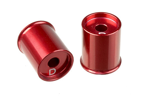 Corally 00110-019 - SSX-10 - Aluminium Lower Arm Cap D -3mm (2 pieces)