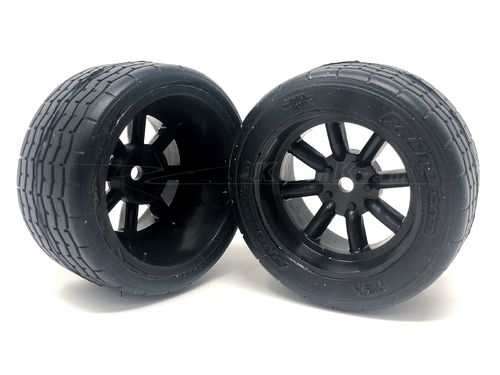 Protoform 10139-18 - 31mm VTA Vintage Tires - PRE-GLUED - BLACK rim (2 pcs)