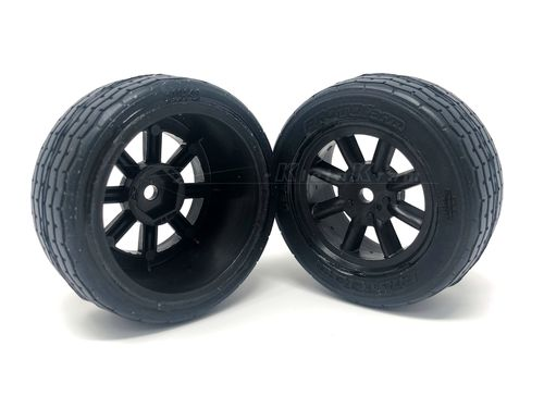 Protoform 10140-18 - 26mm VTA Vintage Tires - PRE-GLUED - BLACK rim (2 pcs)