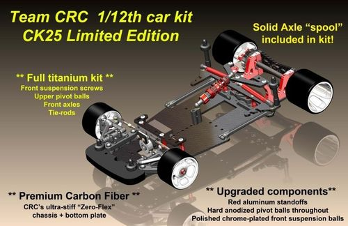 CRC 3220 - CK25 - CarpetKnife Twenty5 - 1:12 PanCar Kit - LIMITED EDITION