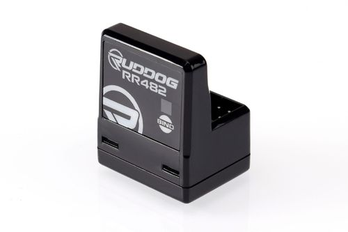 Ruddog Products 0176 - RR482 Receiver - compatible to SANWA - FH3 / FH4