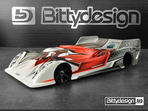BittyDesign LSM19 - 1:12 PanCar Body - LIGHTWEIGHT