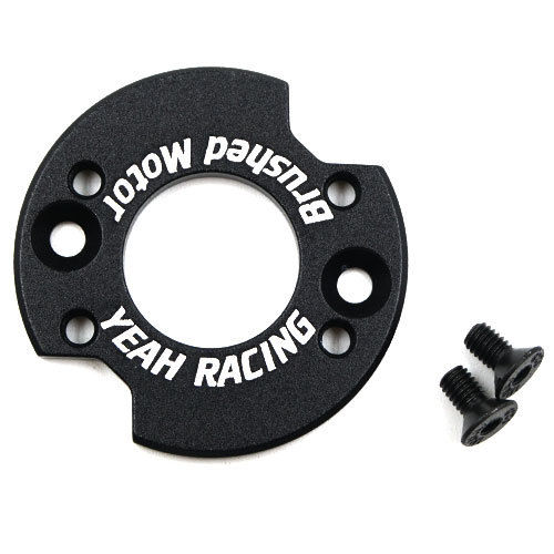 Yeah Racing YA-0596BK - Alu Adapter for Brushed Motor - 1/10
