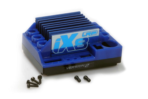 LRP 500150 - ESC Spare Part - iX8 - Case Set
