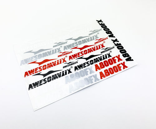 Awesomatix A800FX-STS - A800FX Stickers Sheet