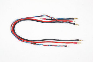 GM Racing 98994.L - Charger Wire G3.5/G4 with Balancer for Saddle-Pack Batteries