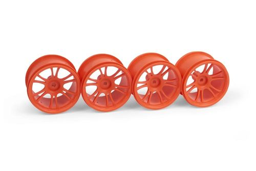 XRAY 389946 - XRAY M18MT STARBURST WHEELS - ORANGE (4)