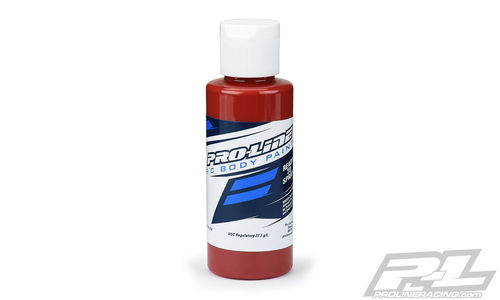ProLine 6325-14 - RC Body Paint - Airbrush Farbe - MARS ROT OXID - 60ml