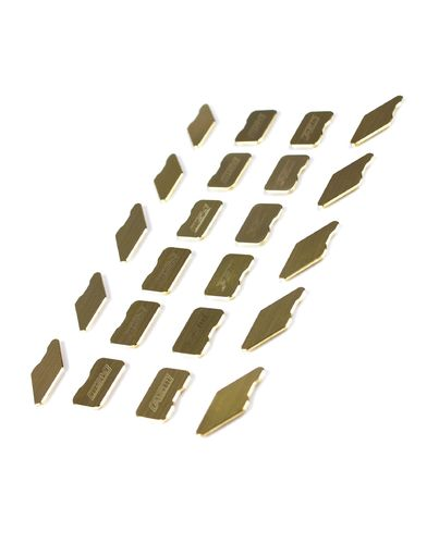 PSM PS02231 - Brass Weight Inlays - for PSM HTC TC Chassis - golden