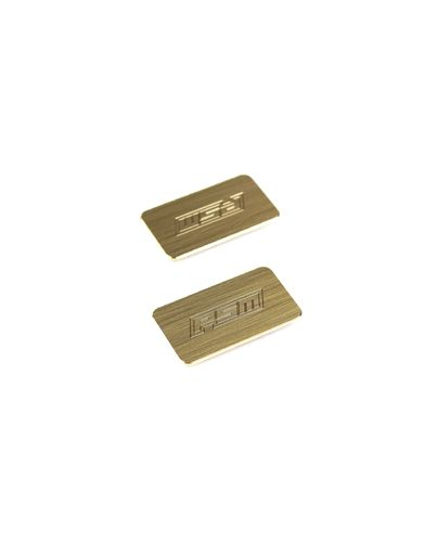 PSM PS02229 - Brass Weight Inlays for Motor Area - for PSM HTC / DTC TC Chassis - golden