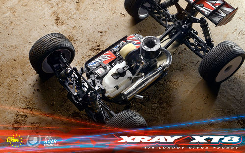 XRAY 350204 - XT8-2 - 1:8 Off-Road Car Kit
