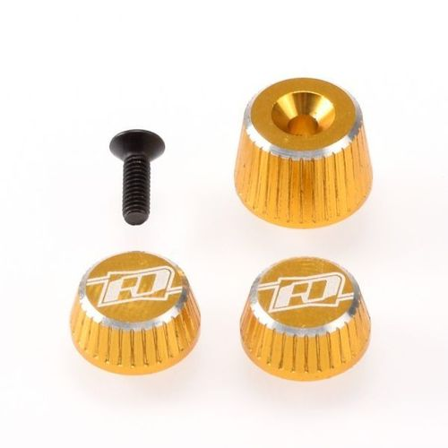 Revolution Design RDRP0501-GLD - SANWA M17 - Aluminium Muttern Set - GOLD