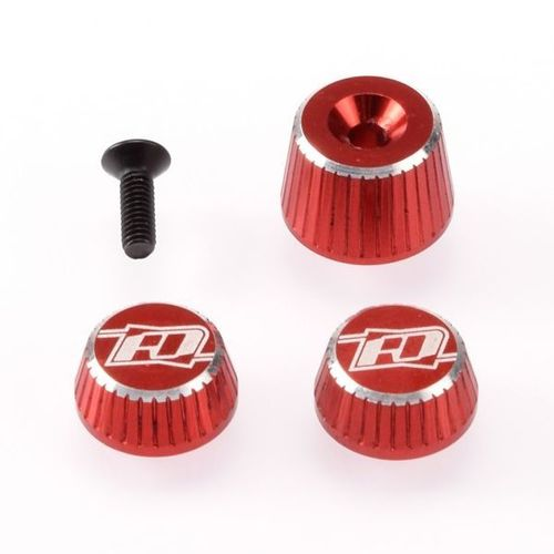 Revolution Design RDRP0501-RED - SANWA M17 - Aluminium Muttern Set - ROT