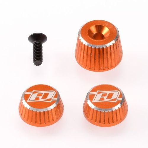 Revolution Design RDRP0501-ORA - SANWA M17 - Aluminium Muttern Set - ORANGE